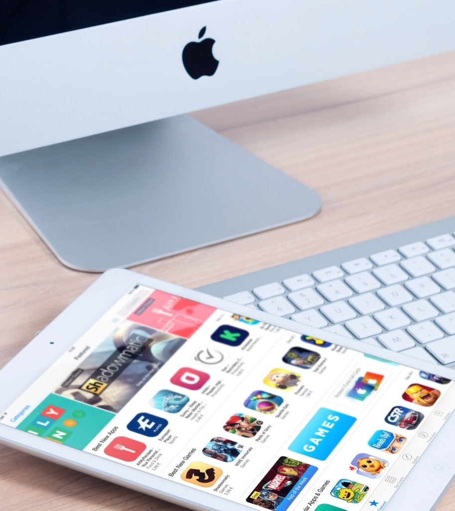 web development of websites and apps